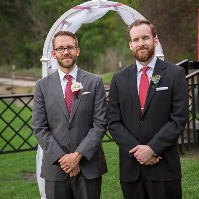 My best friend got married this past October and I was lucky and honored to be his best man. I wish both of them the best in life and in their love. #bestbuds #fallwedding #styling #bestman