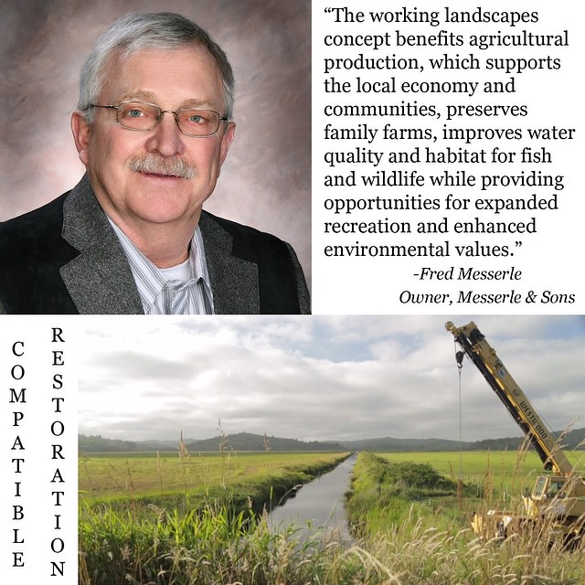 Click the link on our profile to read Fred Messerle's full testimonial! @nehalem_marine  #compatiblerestoration #coosbay #bandonoregon #coquille #coquilleriver #tillamook #oregoncoast #workinglands #workingfarms #workinglandscapes