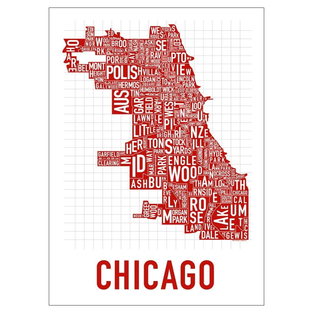 The 77 neighborhoods of chicago