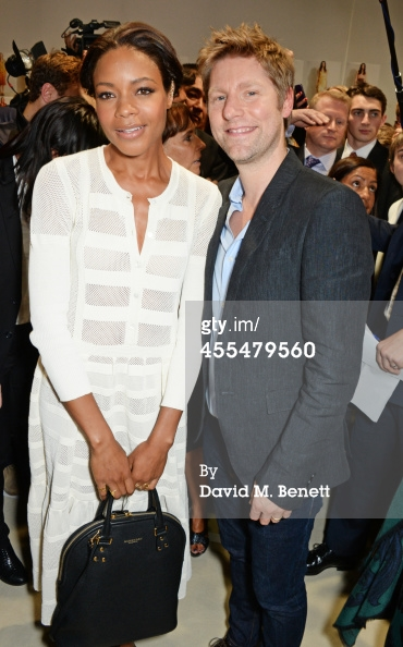 Naomie Harris in Completedworks ear cuff