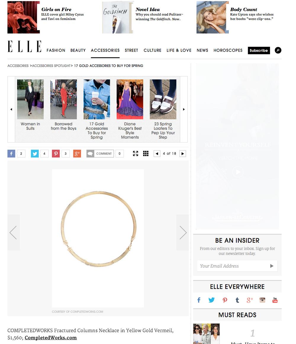 ELLE US - Completedworks