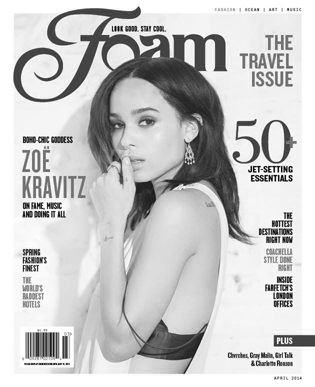 Foam magazine April 2014