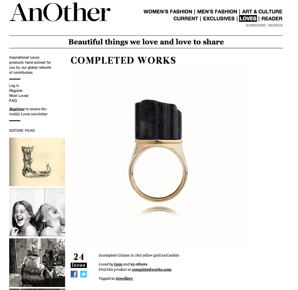 AnOther Loves Completedworks