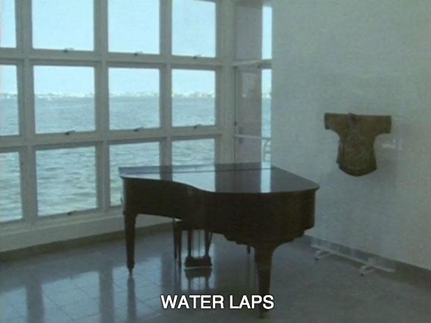 water laps