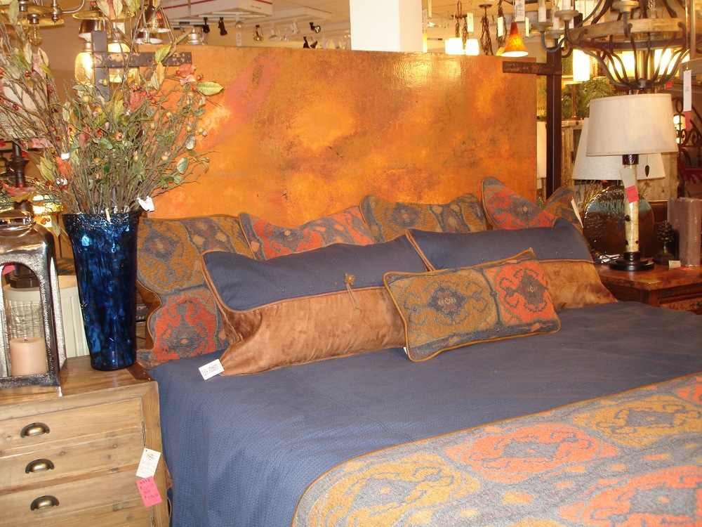 Copper Industrial Bed