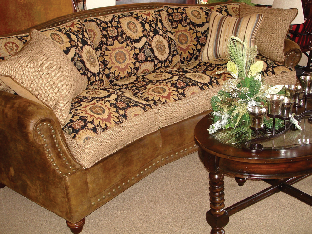 Southwest Elegant Conversation Sofa