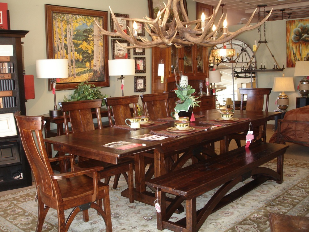 B&O Railroad Dining Set