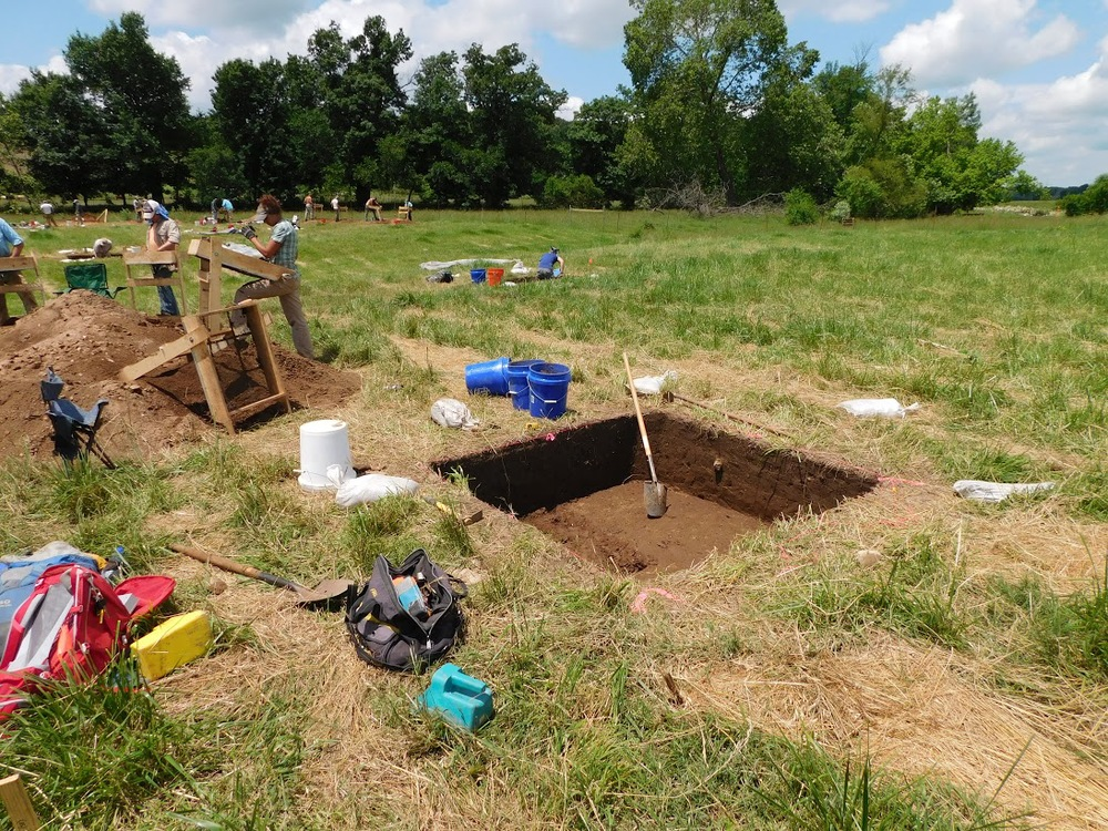 Archeological survey, testing, and data recovery