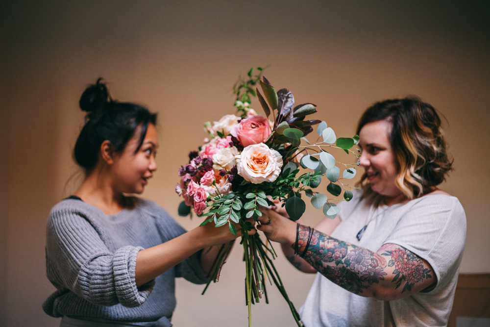 wedding & event florist program with rosalie & jenna