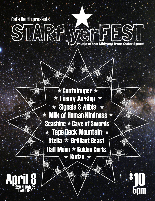 Check out starflyerfest.com for more info