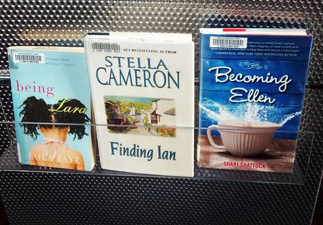 Being Lara // Finding Ian // Becoming Ellen  #librarydisplay