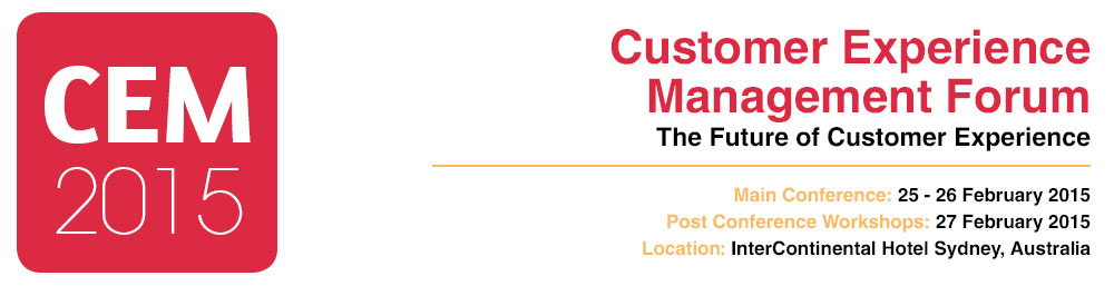 CUSTOMER EXPERIENCE MANAGEMENT FORUM