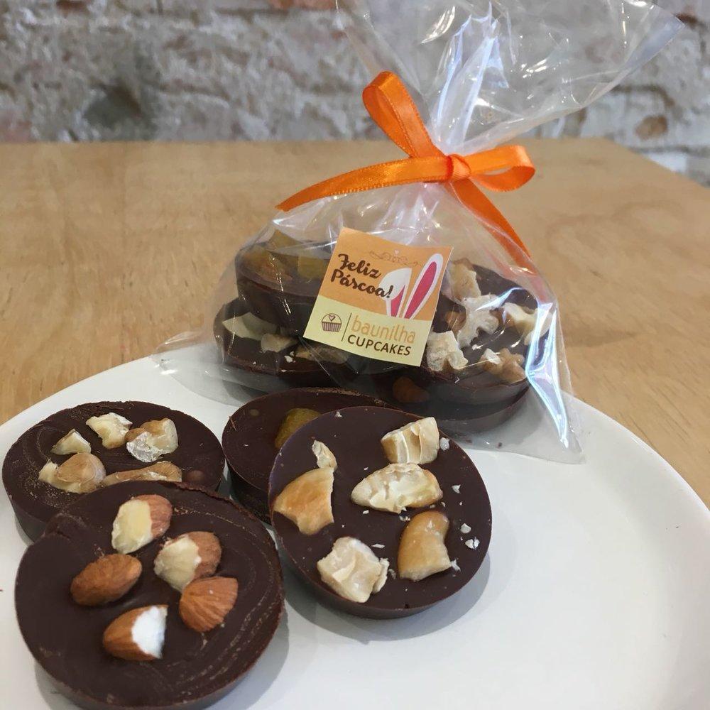 moedinhas de chocolate - R$ 10