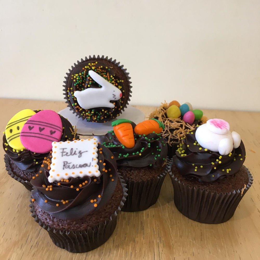 Cupcakes grandes decorados