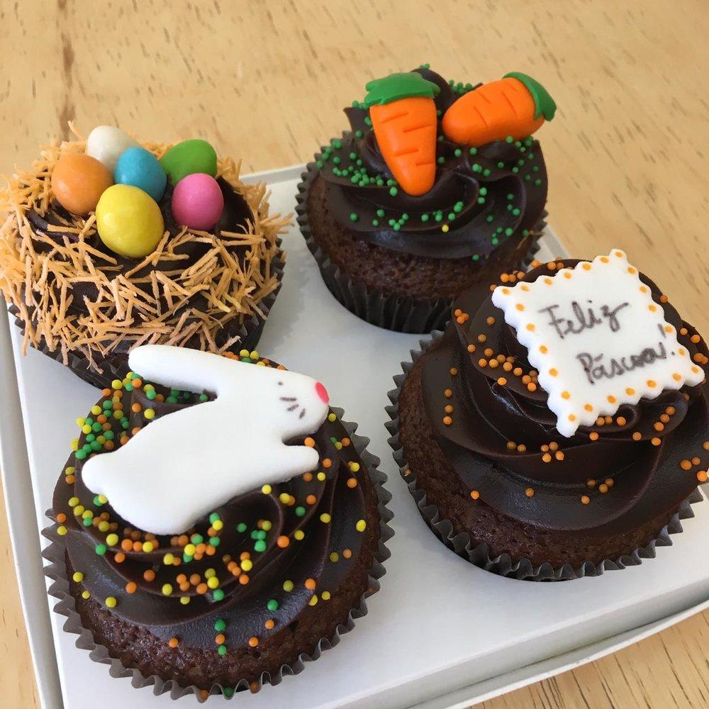 Cupcakes grandes embalados