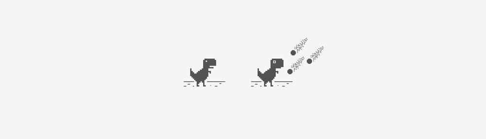 Sebastien is the creator of Chrome's lonely T-rex