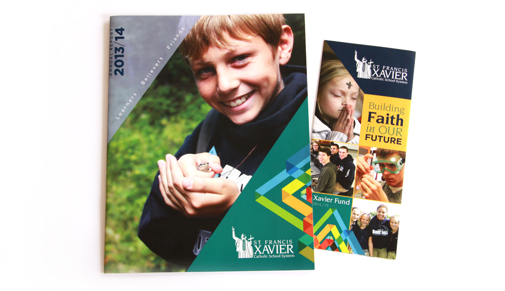 St. Francis Xavier Catholic School System Annual Report and Fund Brochure
