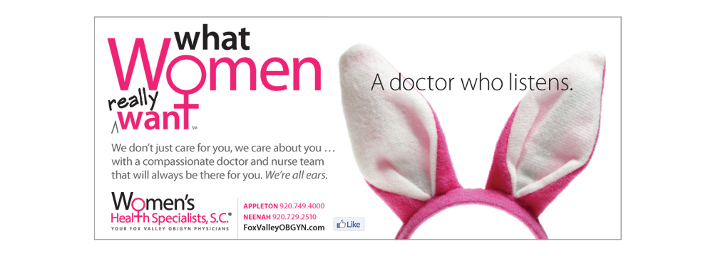 Women's Health Specialists - Fox Valley OB/GYN Physicians - foxvalleyobgyn.com - what women really want