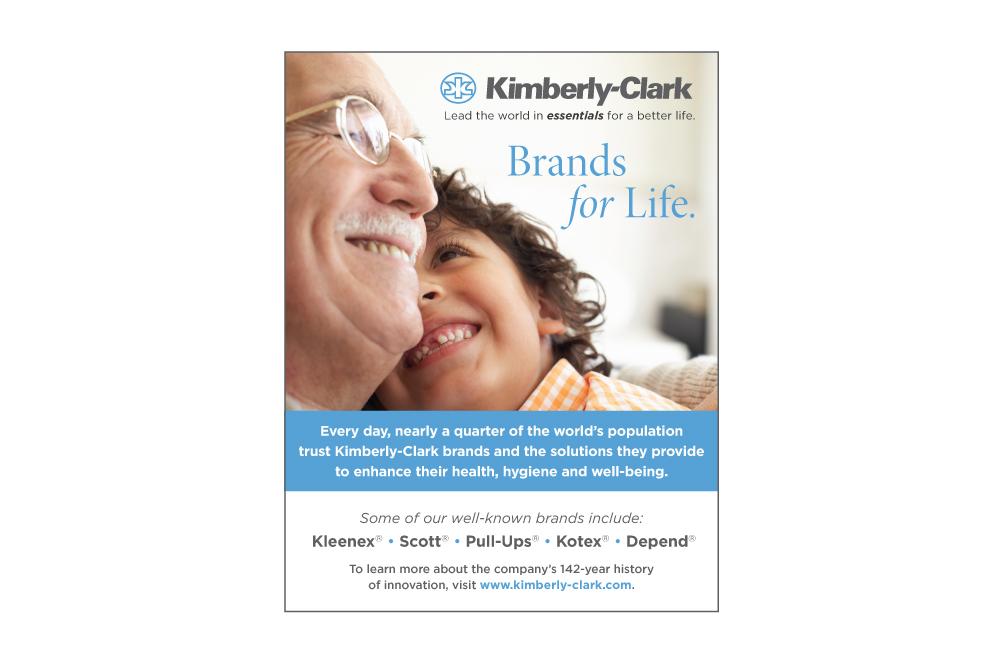 Kimberly-Clark Corporation - Brands for Life - Kleenex, Scott, Pull-Ups, Kotex, Depend - kimberly-clark.com