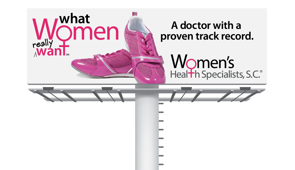 Women's Health Specialists, S.C. - A doctor with a proven track record - billboard