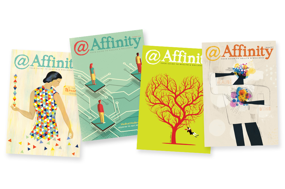 Affinity Health System - @Affinity - Health and Wellness - Personalized Care - winter, spring, summer, fall