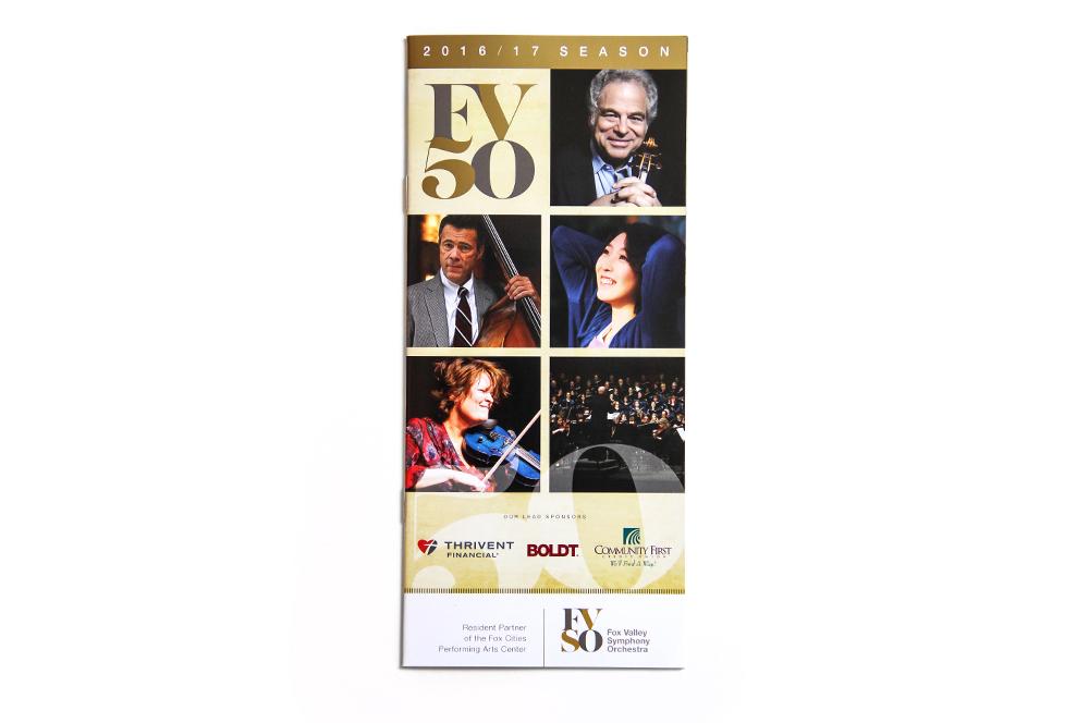 Fox Valley Symphony Orchestra - 2014-2015 Season Brochure