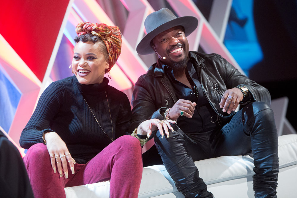 Andra Day and Anthony Hamilton
