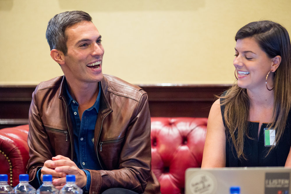 Ari Shapiro, Host, All Things Considered, and Joanna Pawlowska, Senior Manager, Generation Listen