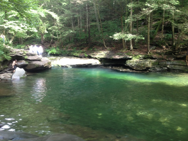 Big Blue Swimming Hole