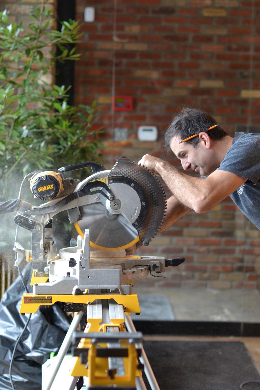 Olivier Breton, notre chef installateur qui partage notre passion depuis plus de 12ans.