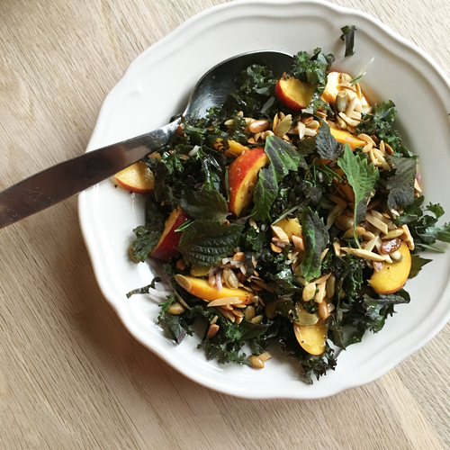 Salade de Kale et Sisho