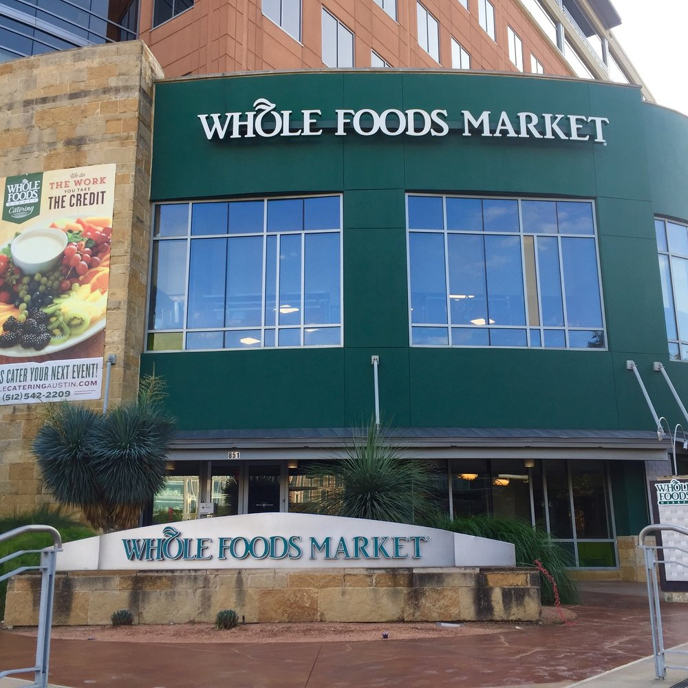 Whole Foods Market flagship store in Austin, Texas