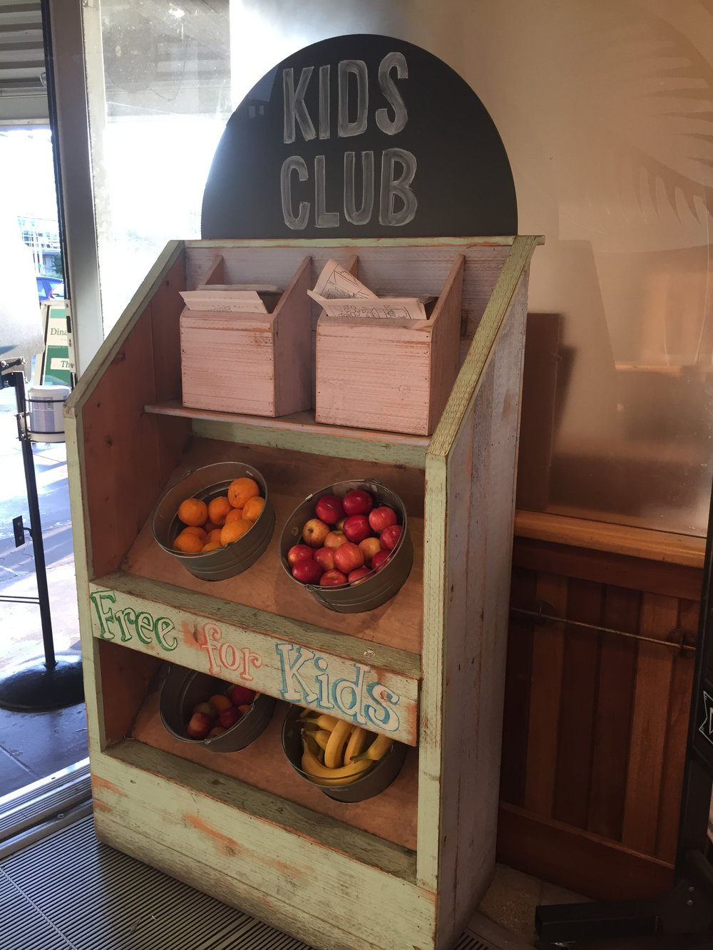 Free fruit for kids inside Whole Foods Market in Austin, TX