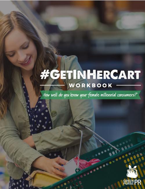 #GetInHerCart Workbook Cover by Green Purse PR