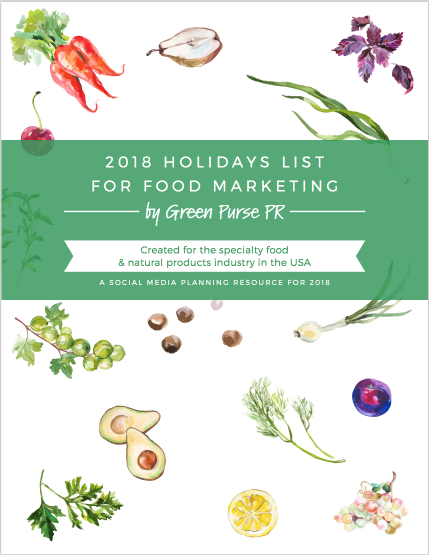 Click Here For Your List! - Thank you for downloading our 2018 Holidays List for Food Marketing. We are certain it will be a useful social media planning tool for your company. Let us know which holidays you plan to incorporate into your social media.If you're hungry for more content like this, please stay tuned to our blog, #GetInHerCart.