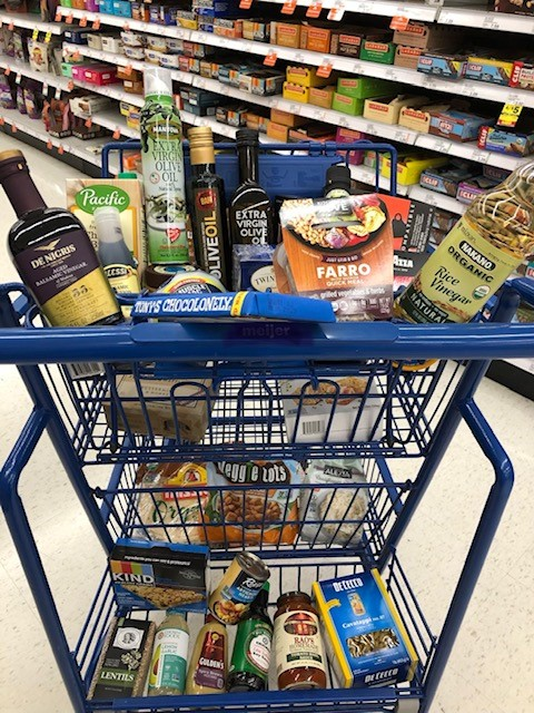 Specialty food products that #GetInHerCart. Some of the products Maria purchases for her own home