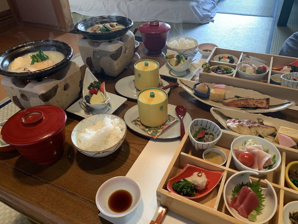 breakfast traditional Japanese