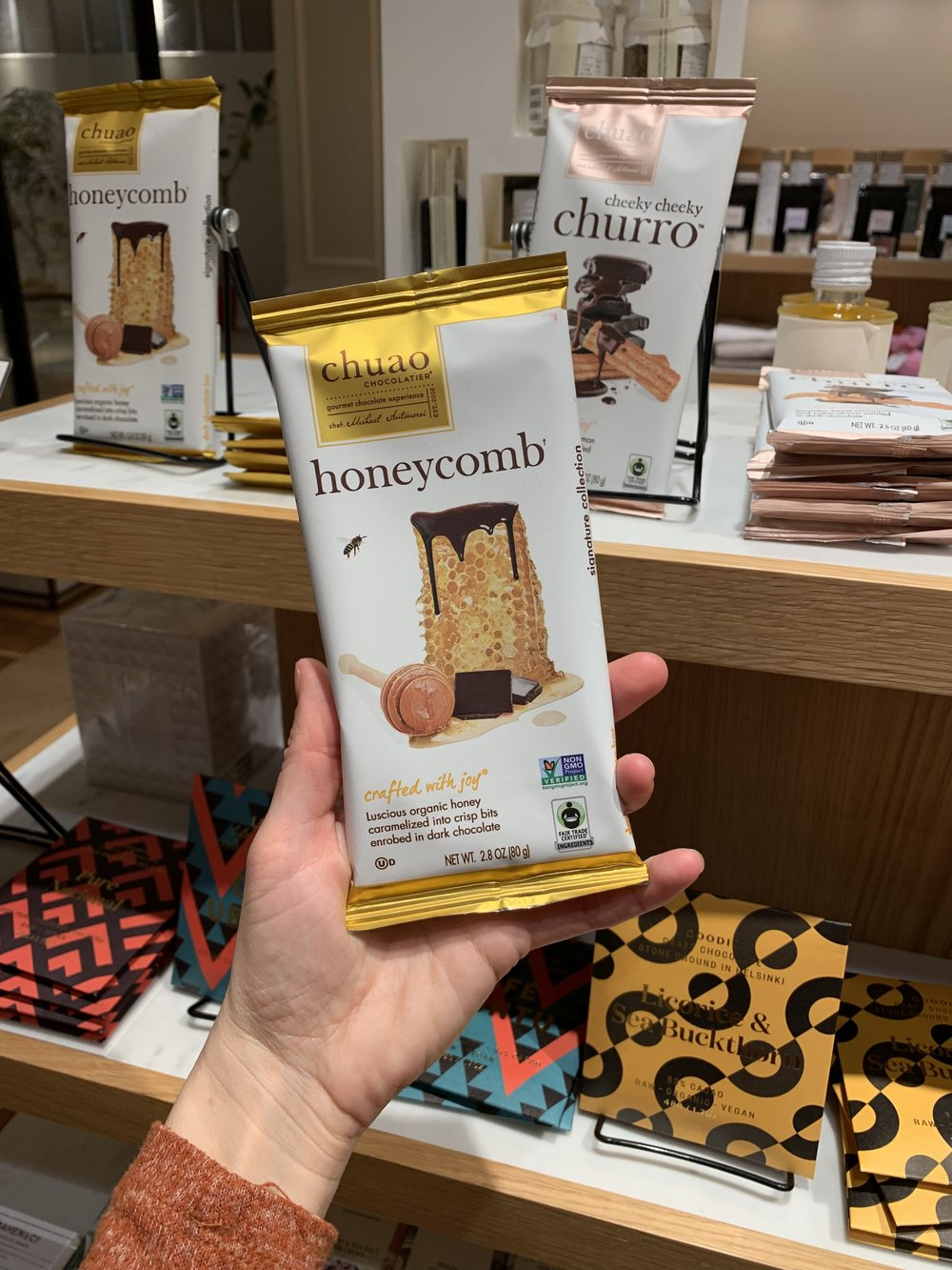 chuao honeycomb Japan