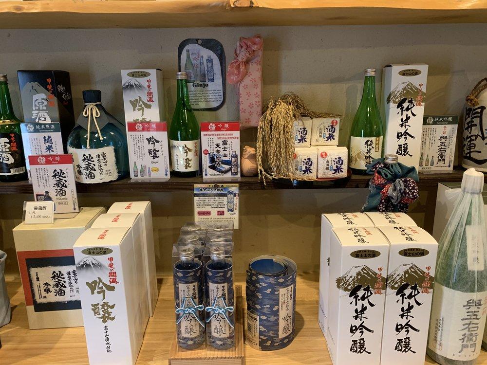 saki mount fuji yamanashi japan
