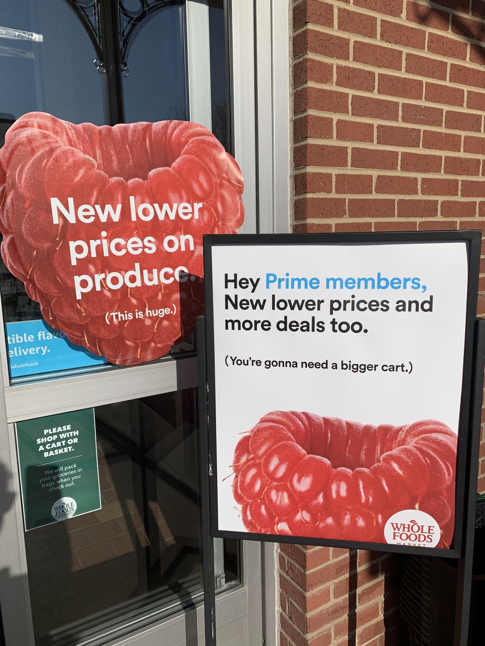 low prices at whole foods market