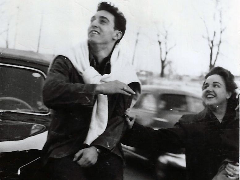 Peg & Gus on car.jpg
