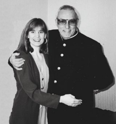 Gus Giordano with daughter Amy Giordano