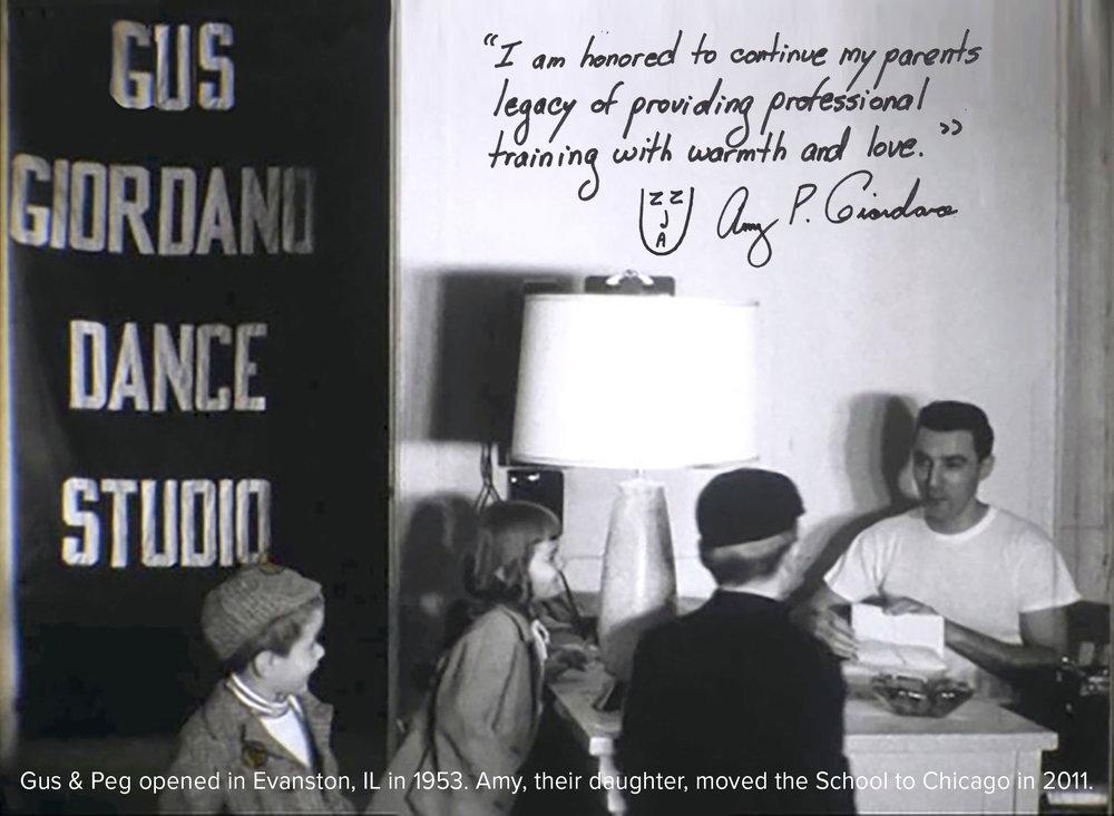 Gus Giordano Dance School 1953