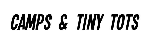 Dance Camps & Tiny Tots Dance Camp