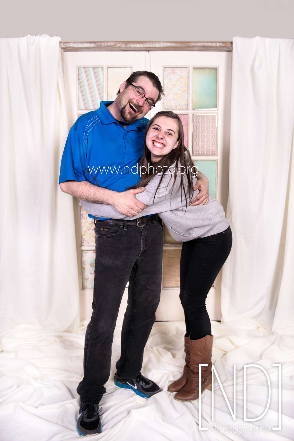 Kaylee and her daddy, Chris Carney (owner of Premier Sound and Entertainment DJ and karaoke service), at the father daughter dance on March 20th, 2015.