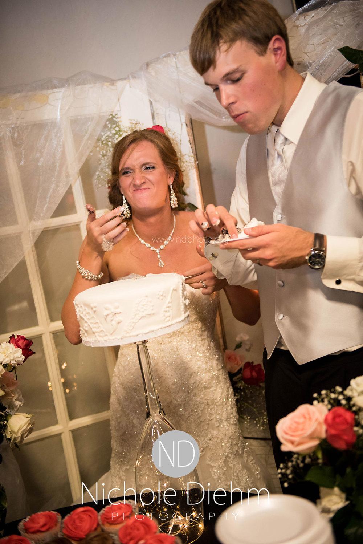 Brook-and-Stu-say-I-do-Cedar-Falls-Spencer-Iowa-reception-cake-cutting.jpg