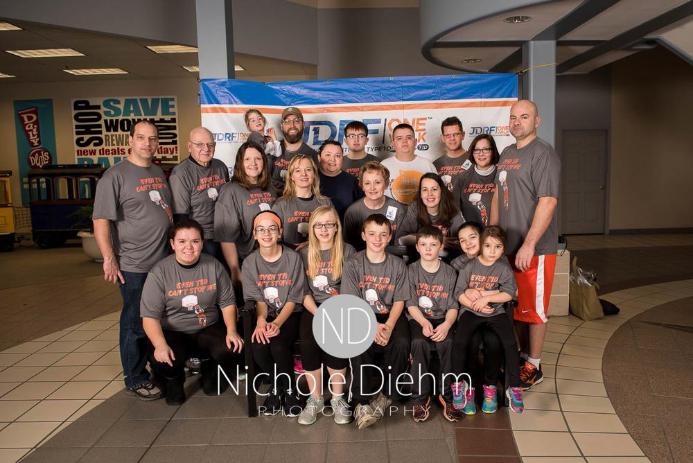 Nichole Diehm Photography JDRF One walk diabetes Crossroads Mall Februrary 2016-3.jpg