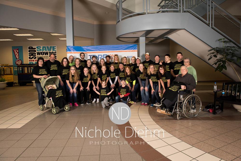 Nichole Diehm Photography JDRF One walk diabetes Crossroads Mall Februrary 2016-5.jpg