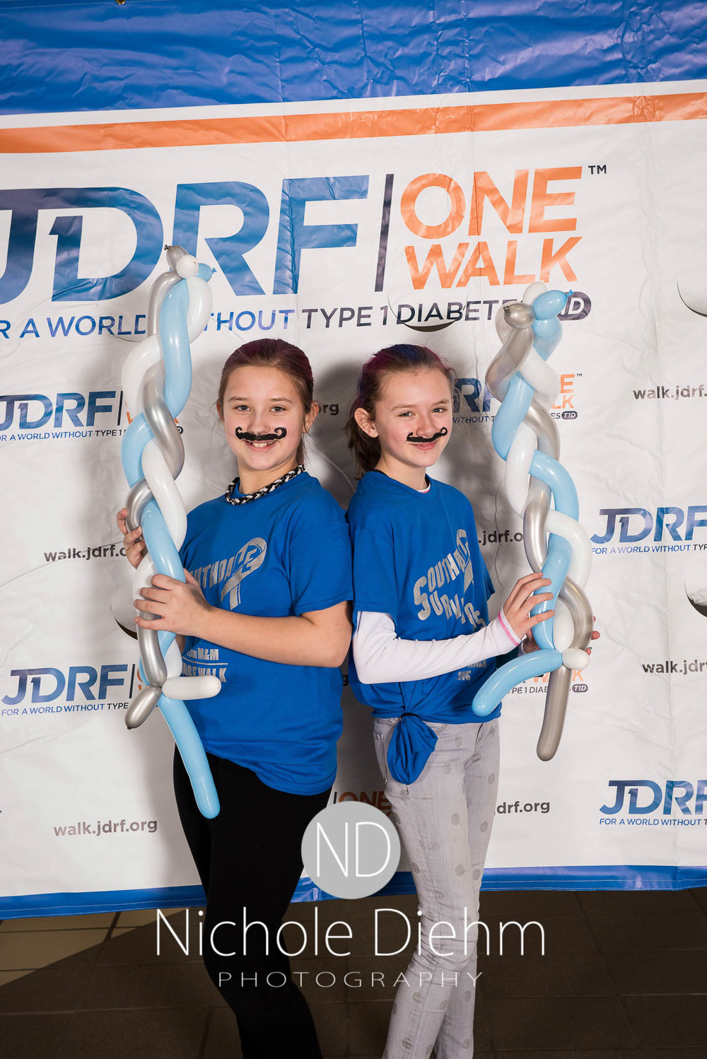 Nichole Diehm Photography JDRF One walk diabetes Crossroads Mall Februrary 2016-14.jpg
