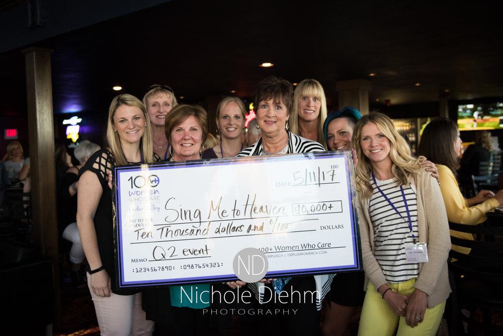 Winners of the Quarter 2 100+ Women Who Care Cedar Valley.